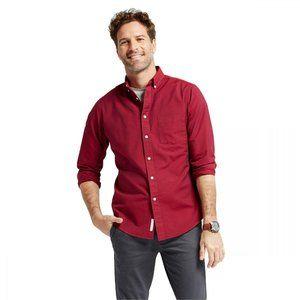 NWT Goodfellow & Co. Button Down Shirt Red XL